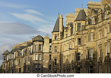 Edinburgh Real Estate - A beautiful row of Victorian...