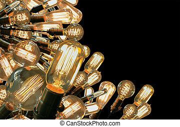 edison, lightbulbs