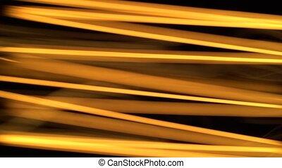 Macro shot of powerful incandescent lamp tungsten filament