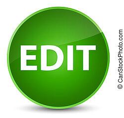 Edit elegant green round button