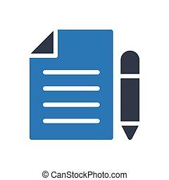 edit glyph color icon