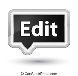 Edit prime black banner button