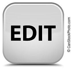 Edit special white square button