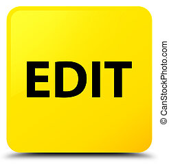 Edit yellow square button