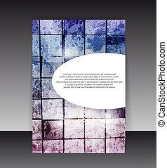 editable, カバー, イラスト, 内容, バックグラウンド。, ベクトル, デザイン, フライヤ, フォルダー, ∥あるいは∥, design.