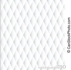 (editable, 摘要, pattern), seamless, 插圖, 背景。, 矢量, 白色