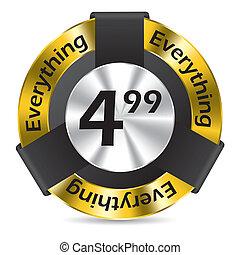 Editable  badge design