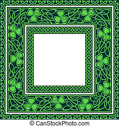 editable celtic borders