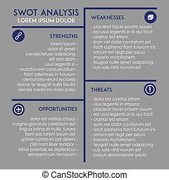 Editable SWOT analysis template - Editable template...