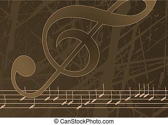 editable, vektor, musik, bakgrund
