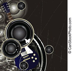 editable, vektor, musik, hintergrund