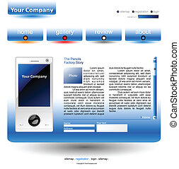editable website template