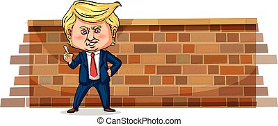 Editorial - Character sketch of Donald J. Trump, president of the USA, Janurary 2018