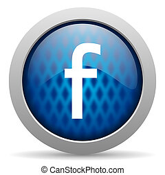 facebook icon - EDITORIAL USE ONLY facebook icon
