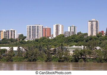 Edmonton, Alberta - Part of Edmonton's Skyline