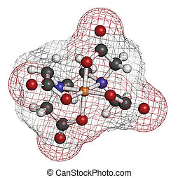 EDTA (ethylenediaminetetraacetic acid) complexing agent...