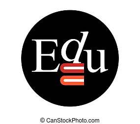 Edu Logo Concept Design. EPS 8 supported.