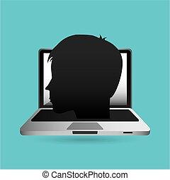 eduation online concept school background