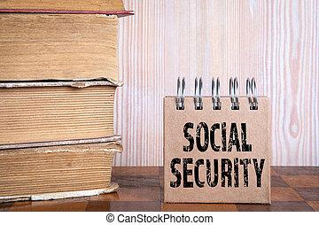 educação, benefícios, sistema, cuidado, security., social, pensão, conceito, saúde