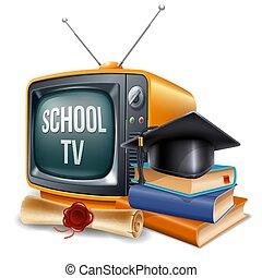 educação, canal