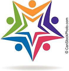 educação, logotipo
