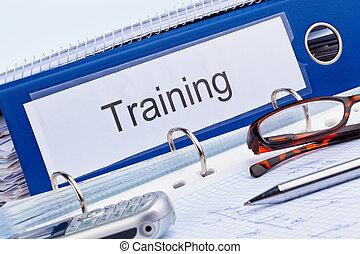 educação, treinamento, educação, adulto