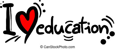 educación, amor