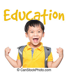 educación, concept.