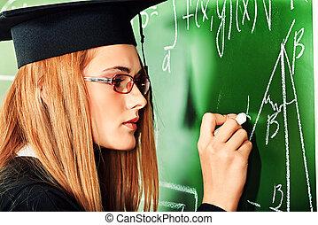 educación en colegio