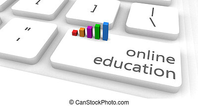 educación, en línea