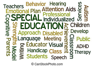 educación, especial
