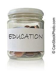 educación, fondos