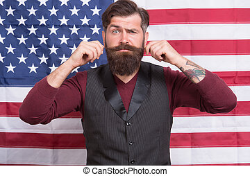 educación, july., programa, flag., norteamericano, ...