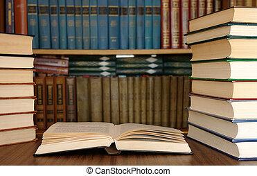 educación, libros