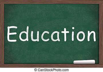 educación, obteniendo
