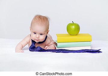 educación, y, temprano, development.