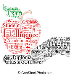educacional, fonte, desenho