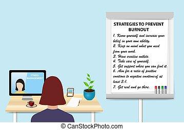 educar, estrategias, para lo impedir, fundición, concepto, vector