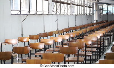 education and competition exam room