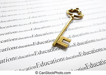 education and key