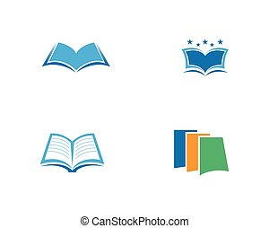 Education Book Logo Template vector illustration