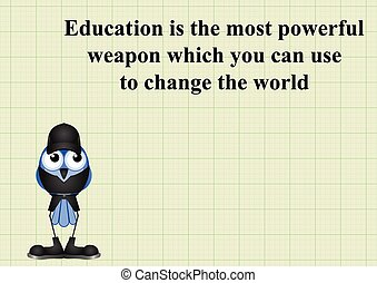 Education change the world