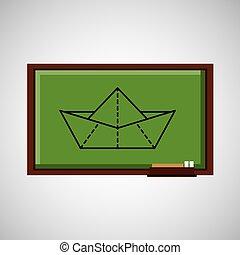 education concept blackboard creativity
