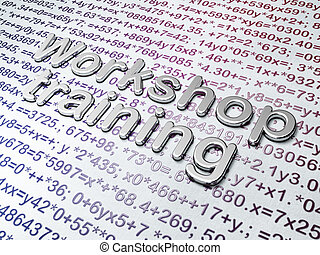 Education concept: Golden Workshop Training on Education...