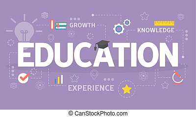 Education concept. Idea of learning and knowledge