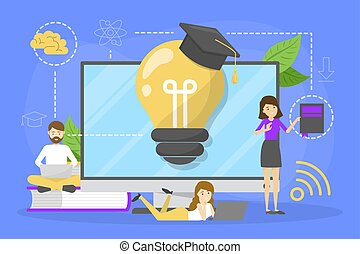 Education concept. Idea of learning and knowledge.