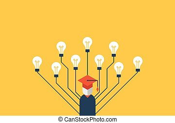 Education concept illustration - Education concept education...