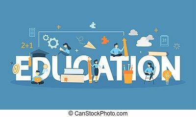 Education concept illustration.