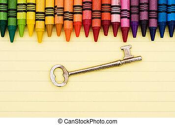 education, est, les, clef succès