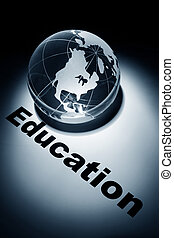 Education - globe, concept of international education